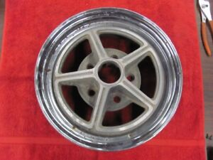 """Kelsey Hayes 14X6 Magstar Wheel Rim Buick Chevy 5X4.75 July 1966 Date 5X4.75"""""""
