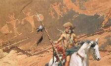 """""""In the Land of the Ancient Ones"""" Frank McCarthy Masterworks Giclee Canvas"""