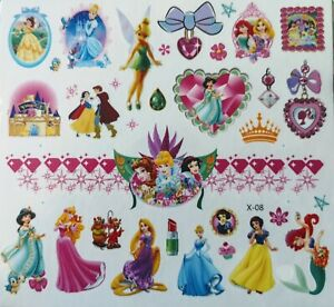 KIDS Temporary Tattoo Great for Party Bags Size Sheet 11.5 x 12,5