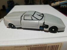 Vintage KO Transformers Gobots Grey Sports Car Robot