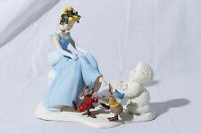 "Disney Dept. 56 Snowbabies ""If The Shoe Fits..."" Cinderella Figurine"