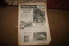 Motoring News 15 May 1975 Welsh Rally Monaco GP F1 F3 Lancia Beta Test
