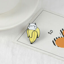 Clothing Jewelry Clothes Bag Badge Le Banana Pattern Enamel Alloy Pins Brooch