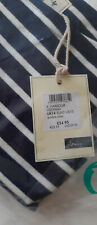 JOULES   top size 14  harbour print new navy/ white stripe long sleve
