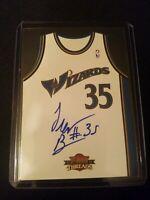 2010-11 Panini Threads Rookie Team Home Autograph/99 #37 Trevor Booker Auto Card