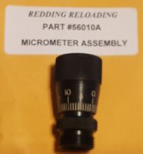 56010A REDDING COMPETITION SIZING DIE MICROMETER ASSEMBLY - NEW - FREE SHIP