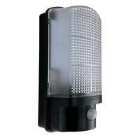 LED IP44 Flush Wall Mounted PIR Sensor 7W 4000K Traditional Bulkhead Light
