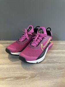 Nike Air Max 2090 GS Active Fuschia Running Shoes GS sz 7y Women's 8.5CZ7659-600