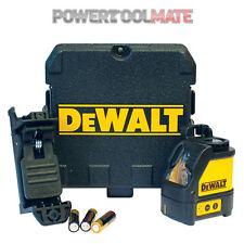 DEWALT DW088K Self livellamento linea CROSS LINE LASER KIT DW088 Genuine UK STOCK