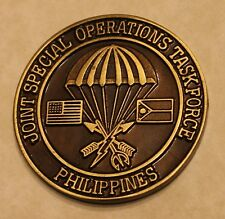 Joint Special Operations Task Force Philippines Commander's Challenge Coin