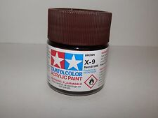 Tamiya Color Acrylic Paint Brown #X-9 (23 ml) NEW