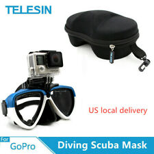 TELESIN Diving shooting photograph Scuba Mask With Removable Mount For GoPro DJI