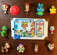 Toy Story 4 Minis Series 1 (Opened to remove packaging) (Items are NEW)