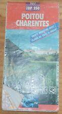 Carte IGN 1-250 000e n°107, Poitou-Charentes, 1998