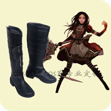 1e3549c4163c Alice Madness Returns cosplay shoes Boots Custom Made