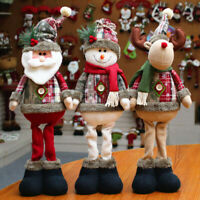 48cm Snowman Elk Santa Claus Standing Doll Christmas Toy Party Home Xmas Decor
