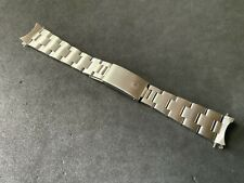 Authentic 1982 Rolex 78350G 19MM Stainless Bracelet 557 End For Rolex 34MM Watch