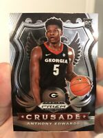 2020-21 Prizm Draft Picks ANTHONY EDWARDS Rookie RC Crusade #81 Timberwolves QTY