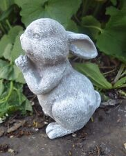 """Latex only  rabbit praying mold 3.5""""H x 2.25""""W plaster cement mould"""