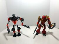LEGO Bionicle LOT: Tahu Master of Fire 70787 + Skull Grinder ONLY from 70795
