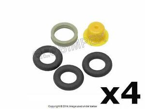 Porsche 951 944s Fuel Injector Seal O-Ring Kit (4) BOSCH + 1 year Warranty