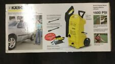 KARCHER-K2.27CCK CCK Cold Water Electric High Pressure Washer with Car Care NIB