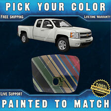 Painted To Match Passengers Front Bumper End 2007 2013 Chevy Silverado With Fog Fits 2013 Silverado 1500