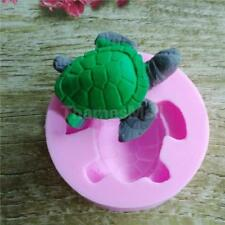 Soap Mold Tortoise Flexible Silicone Mould For Handmade Candle Resin Candy SW