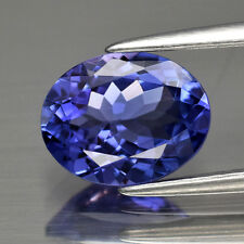 $2000 Natural 1.85ct Tanzanite Oval Blue Purple Gemstone New USA *Certified*