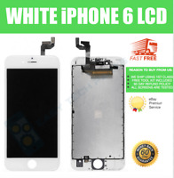 For Apple iPhone 6 LCD Digitizer Replacement Screen Genuine OEM White A1549 UK