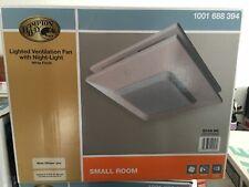 Hampton Bay 50 CFM Ceiling Bathroom Exhaust Fan with Light & Night Light