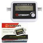 SAT-Finder OCTAGON SF-18 mit Digital HDTV Satelliten-Messgerät Suchen 50cm Kabel