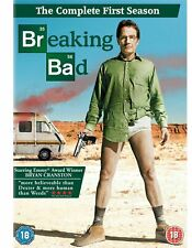 BREAKING BAD the complete first series season 1 one. 3 discs. New sealed DVD.