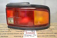 1990-1991 Mazda Protege Right Pass oem tail light 20 4E2