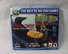 Redemption Cemetery & Haunted Halls PC CD ROM Big Fish Games 2 Game Pack