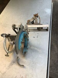 """USED H & M Pipe Beveling Machine Model H4 2"""" to 4"""""""