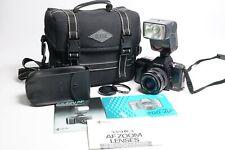 YASHICA 200 AF Kamera 35-70mm AF Macro Yashica Lens CS-250AF Blitz