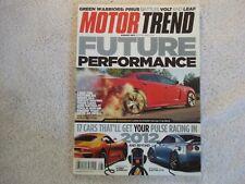 Motor Trend 2011 August BMW 1M vs BMW M3 Volt vs Leaf vs Prius VW Beetle Sonic