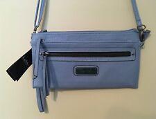 "Nicole Miller New York Misty Blue Small Crossbody/Wristlet Handbag  ""NWT"" $48.00"