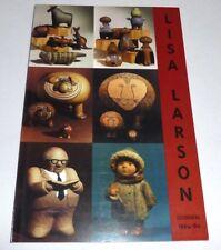 Lisa Larson - Gustavsberg 1954-80  SWEDISH PAPERBACK BOOK