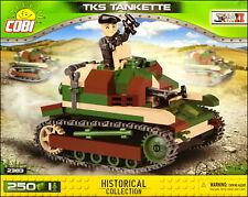 COBI TKS tankette (2383) - 250 elem. - WWII Polish tankette