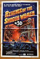 Revenge of the Shogun Women (1977) Kung Fu Movie Poster 1 Sheet 27x41 Vintage