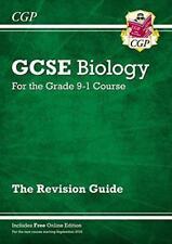 Nuevo Grado 9-1 Gcse Biology: Revision Guide con Edición en Línea por Cgp Libros