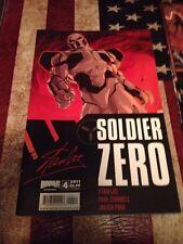 LOT OF 4  COMICS Stan Lee Soldier Zero Boom