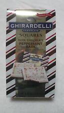 Ghirardelli Dark Chocolate Squares Peppermint Bark 4.45 Oz YUMMY!