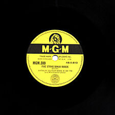 "ARTHUR ""GUITAR BOOGIE"" SMITH 78 Five String Banjo Boogie B/W Sud uk mgm 599 E -"