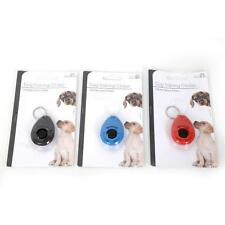 Dog Clicker on a Spiral Chain The Training Aid in Blue Only Not Red