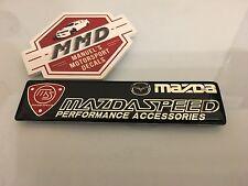 Mazda Speed Mazda Rotary Mazda Speed Performance Accessories Badge Decal