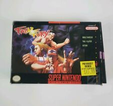 FATAL FURY 1 SUPER NINTENDO SNES - Box Only ! No game ! Authentic