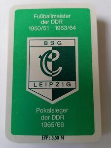 Kartenspiel, Skatspiel. Fußball. DDR. BSG CHEMIE LEIPZIG! RAR